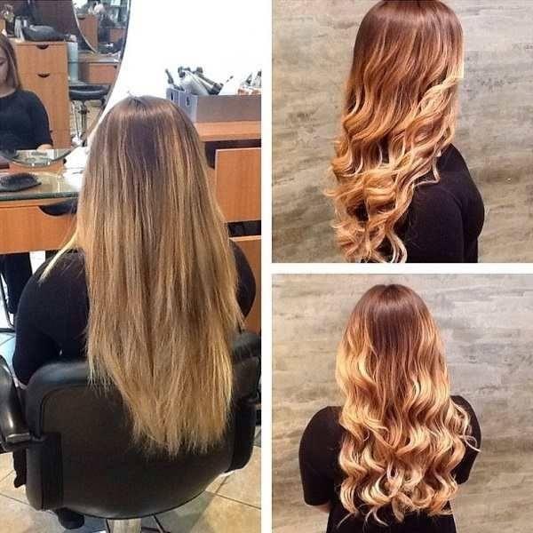 Boho Waves hair