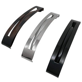 Scunci Thick Hair Open Slide Metal Barrettes