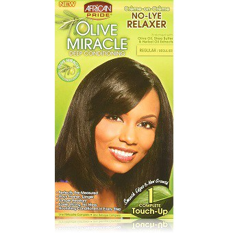 African Pride Olive Miracle No-lye Relaxer