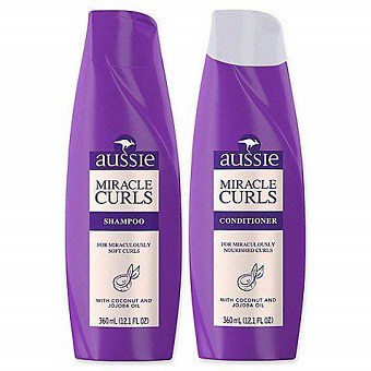 Aussie Miracle 12.1 oz. Curls Shampoo and Conditioner