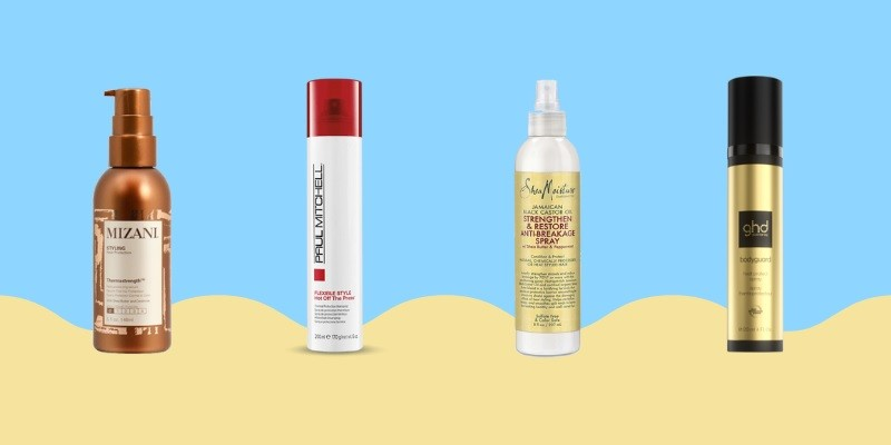 Best Heat Protectant For Relaxed Hair