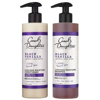 Carol's Daughter Black Vanilla Shampoo & Conditioner