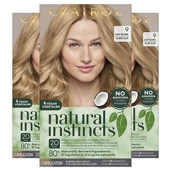 Clairol Natural Instincts Semi-Permanent Hair Dye