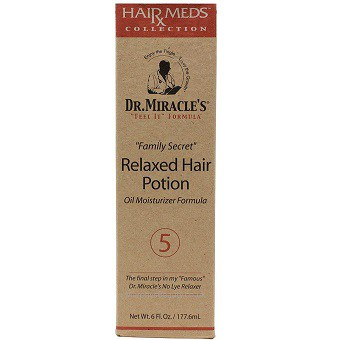 Dr Miracles Relaxed Hair Potion Oil Moisturizer