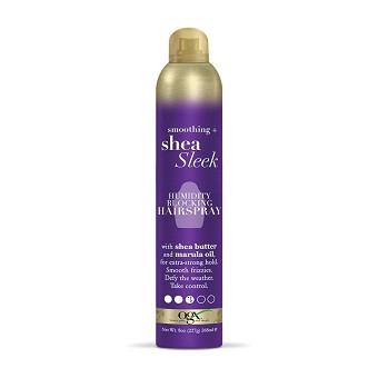 OGX Smoothing + Shea Sleek Hairspray