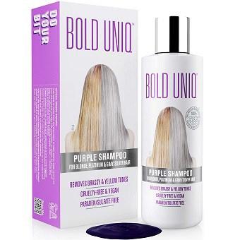 BOLD UNIQ Purple Shampoo for Blonde Hair