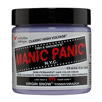 MANIC PANIC Virgin Snow BlondeHair Toner