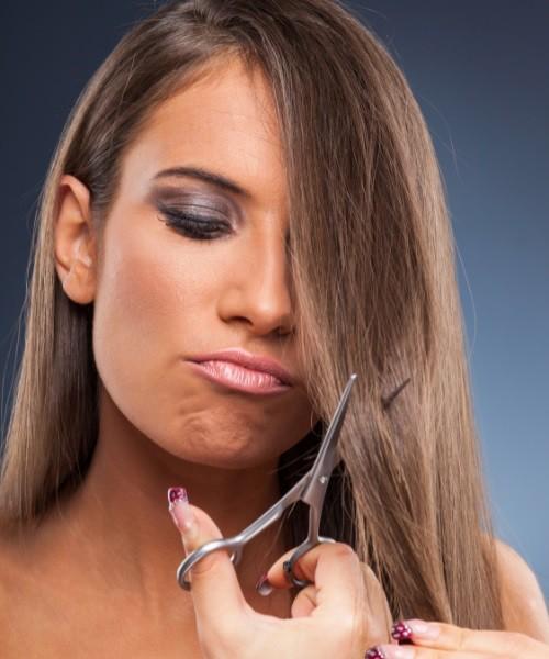 Poor Hair Preperation